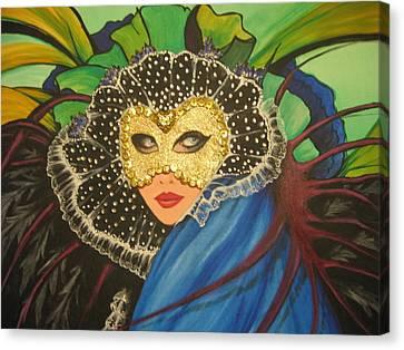 Venice Carnival 1 Canvas Print