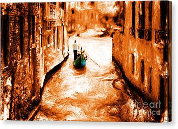 Venice City Canvas Print