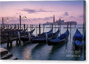 Canvas Print featuring the photograph Venice Dawn II by Brian Jannsen