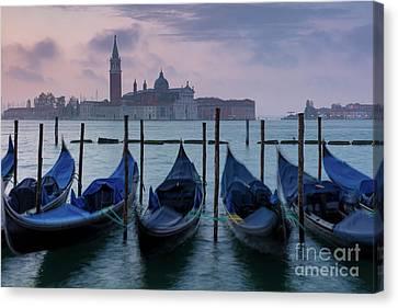 Canvas Print featuring the photograph Venice Dawn IIi by Brian Jannsen