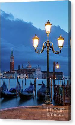 Canvas Print featuring the photograph Venice Dawn V by Brian Jannsen