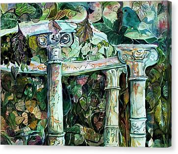 Venice Garden Canvas Print