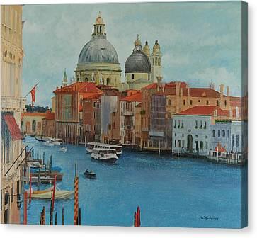 Venice Grand Canal I Canvas Print