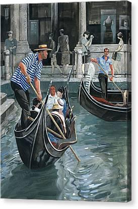 Venice. Il Bacino Orseolo Canvas Print by Igor Sakurov