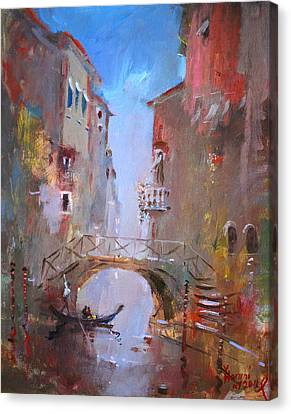 Venezia Canvas Print - Venice Impression by Ylli Haruni