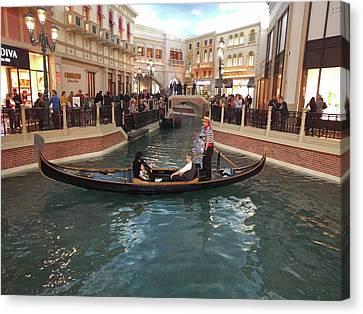 Venice In Las Vegas Canvas Print by Avinash Kumar