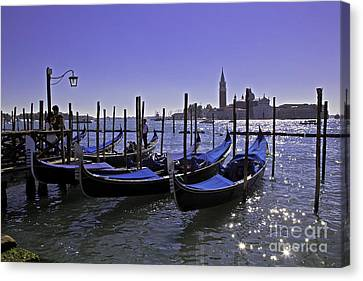 Venice Is A Magical Place Canvas Print