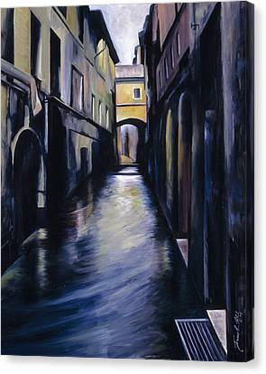 Venice Canvas Print by James Christopher Hill