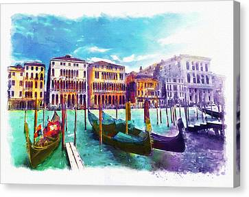 Venice Canvas Print by Marian Voicu