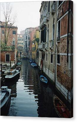 Venice Canvas Print by Marna Edwards Flavell