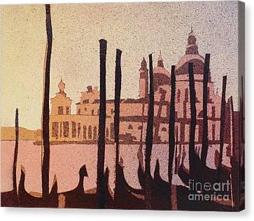 Venice Morning Canvas Print by Ryan Fox