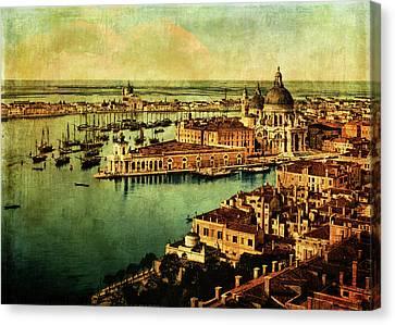 Venice Observed Canvas Print by Sarah Vernon