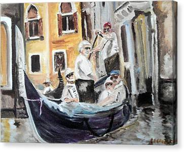 Venice Party Canvas Print