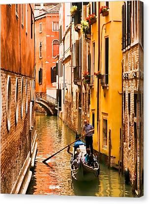 Venice Passage Canvas Print