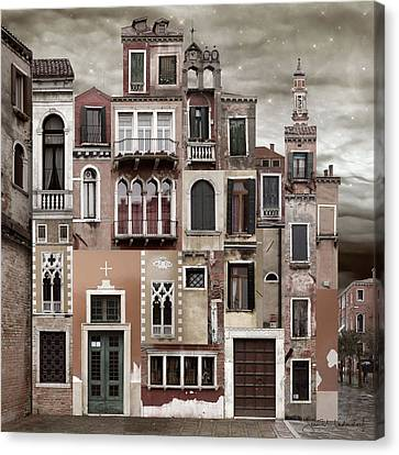 Venice Reconstruction 2 Canvas Print