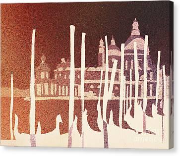 Venice Reversed Canvas Print by Ryan Fox