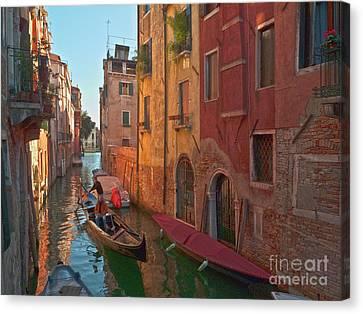 Venice Sentimental Journey Canvas Print by Heiko Koehrer-Wagner