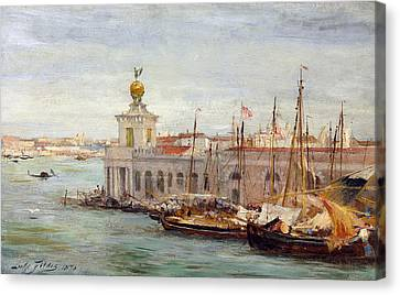 Venice Canvas Print by Sir Samuel Luke Fields