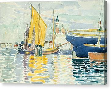 Venice, The Giudecca, 1903 Canvas Print by Henri Edmond Cross