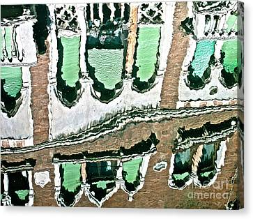 Venice Upside Down 2 Canvas Print by Heiko Koehrer-Wagner