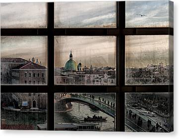 Venice Window Canvas Print by Roberto Marini