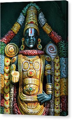 Vishnu Canvas Print - Venkateswara by Tim Gainey
