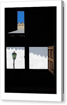 Ventanas Espanolas Canvas Print by Mal Bray