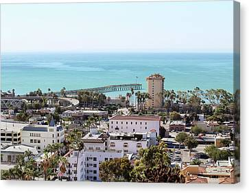 Ventura Coastal View Canvas Print by Art Block Collections