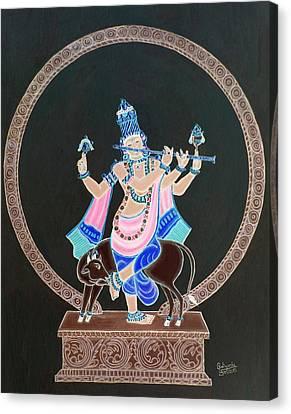 Venu Gopala  Canvas Print