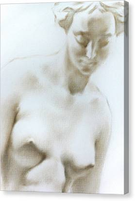 Canvas Print featuring the painting Venus 1d by Valeriy Mavlo