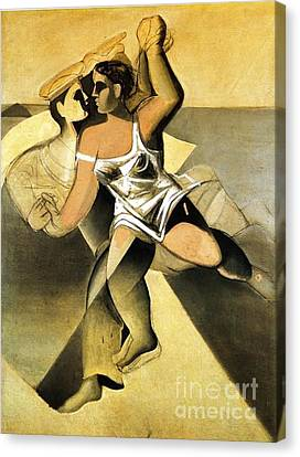 Venus And Sailor II Canvas Print