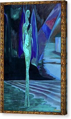 Venus By The Sea Canvas Print