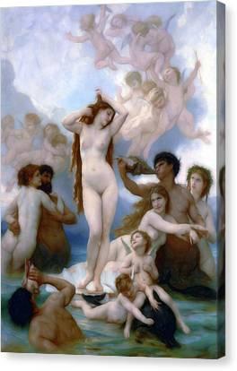 Venus Goddess Of Love Canvas Print by Georgiana Romanovna