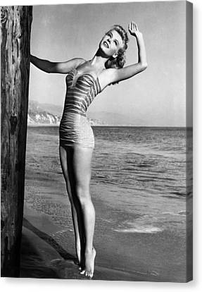 Portraits Canvas Print - Vera-ellen, Ca. 1940s by Everett