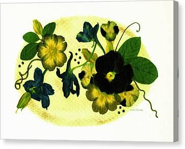 Veranda Canvas Print by Kathie McCurdy
