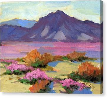 Verbena 1 Canvas Print by Diane McClary