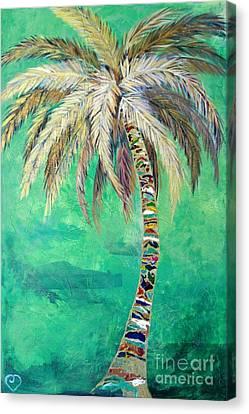 Verdant Palm Canvas Print