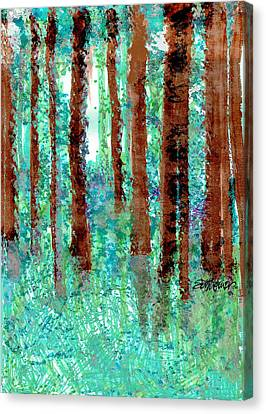 Verdant Vistas Canvas Print by Seth Weaver