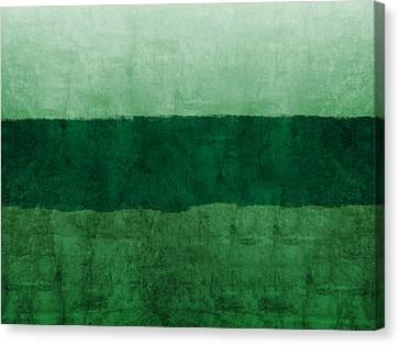 Verde Landscape 1- Art By Linda Woods Canvas Print by Linda Woods