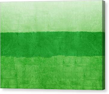 Verde Landscape 2- Art By Linda Woods Canvas Print