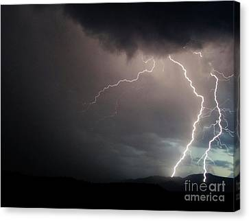 Verde Valley Storms Canvas Print