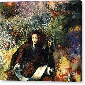 Veritas Canvas Print by Marne Adler
