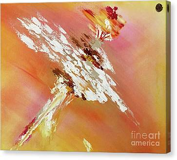 Canvas Print featuring the painting Veritas by Ron Labryzz