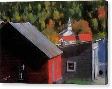 Vermont Again Canvas Print