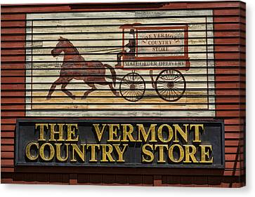 Vermont Country Store Canvas Print by Stephen Stookey