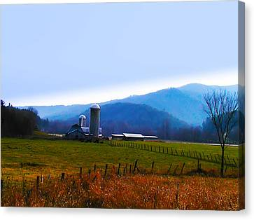 Vermont Farm Canvas Print by Bill Cannon