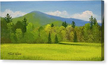 Vermont Spring Canvas Print by Frank Wilson
