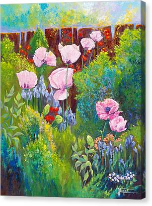Verna Canvas Print by Bente Hansen