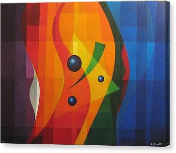 Vernal Composition Canvas Print by Alberto DAssumpcao