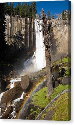 Vernal Falls Rainbow Canvas Print by James Marvin Phelps